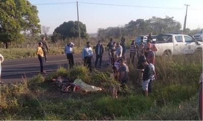 Yby Yaú: Hombre joven fallece de muerte súbita mientras dirigía su motocicleta