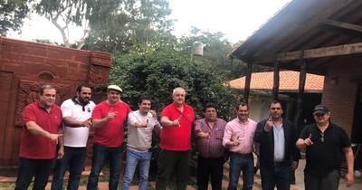 La Nación / Velázquez se reunió con gobernadores para coordinar el apoyo total a la Lista 1