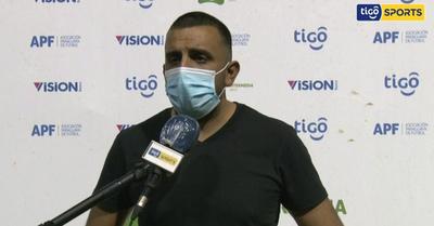 Carlos Recalde analiza la victoria ante Independiente