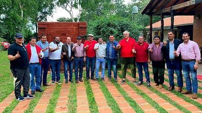 Gobernador de Alto Paraná BUSCA IMPONER dupla PRESIDENCIAL para 2023