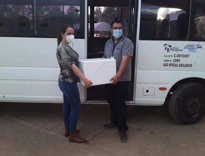 Arranca jornada de vacunación masiva en Caaguazú · Radio Monumental 1080 AM