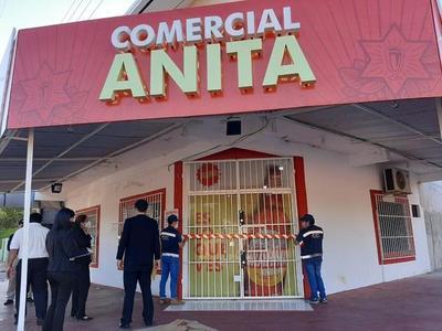 Por no dar facturas, SET suspende actividades de comercios en San Lorenzo y Asunción
