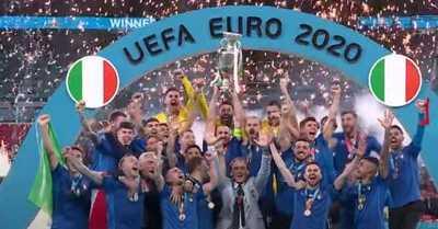 La jugada por la que piden repetir la final de la Eurocopa