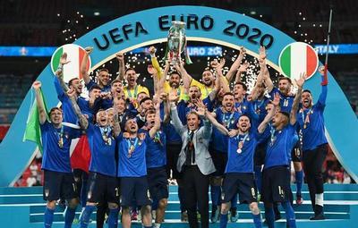 53 años después, la Azzurra conquista su segunda Eurocopa