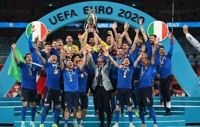 Italia conquistó su segunda Eurocopa después de 53 años