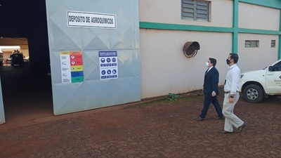 Allanaron depósitos de agroquímicos en Alto Paraná