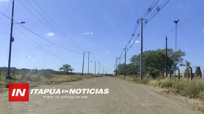 CHAIPÉ: SUEÑAN CON EL ASFALTO HASTA EL HOSPITAL ONCOLÓGICO.