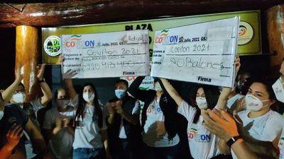Recaudan más de G. 220 millones para enfermos de COVID-19 en Curuguaty