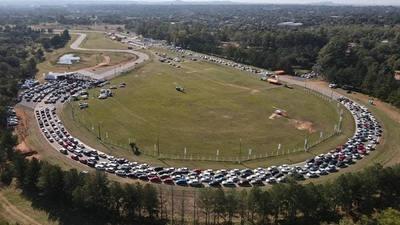 Refuerzan red móvil en el vacunatorio del Autódromo Rubén Dumot