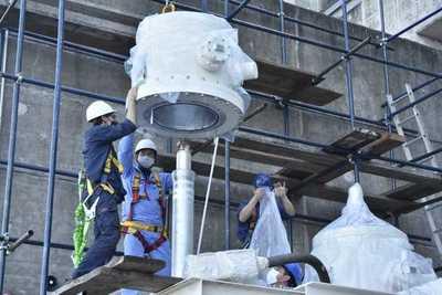 Inicia montaje para adecuación de la Línea Paraguaya 1 en la Hidroeléctrica Yacyretá