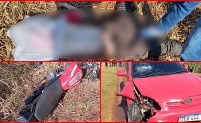 Franqueños mueren tras chocar contra un auto en carrera clandestina