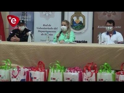 OPD ITAPÚA RECIBE IMPORTANTE DONACIÓN DE LA COMUNIDAD TAIWANESA