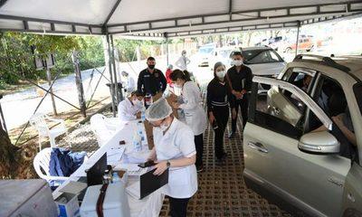 Itaipú coopera con Salud Pública en vacunación masiva