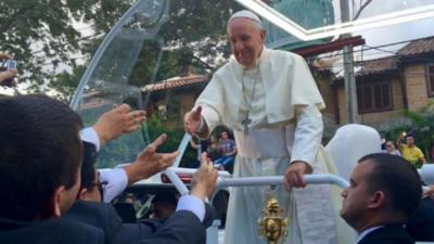 Envían carta al Papa Francisco recordando su visita al país