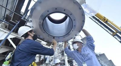 Avanzan obras de EBY para acceder al 100 % de la energía