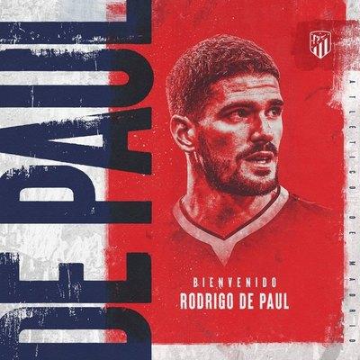 El Atlético de Madrid ficha a Rodrigo de Paul