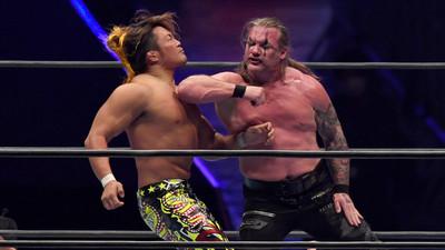Pretendió invadir el ring de lucha libre y mirá lo que hizo el icónico Chris Jericho (Video)