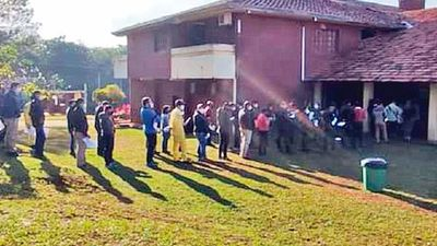 Itapúa: Trabajadores fueron inmunizados