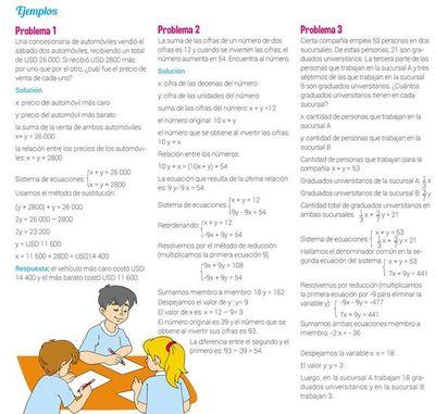 Sistemas de ecuaciones lineales (3)