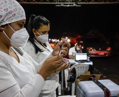 Gobierno paraguayo celebra el millón de vacunados