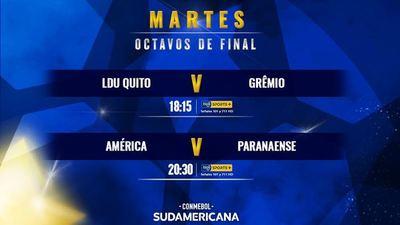 Se abre la etapa de octavos de la Sudamericana