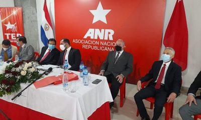 TEP de la ANR proclamó a candidatos para las municipales