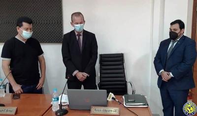 Asume suplente de Bernal en la Junta Municipal de Luque •