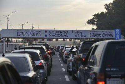 """Patrulla Caminera dice que fue """"superada"""" por la afluencia vehicular en zona del exAratirí"""