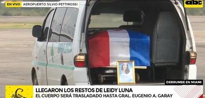 """""""Solidaridad de connacionales"""" cubrió gastos de repatriación de Leidy Luna, dice Acevedo"""