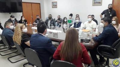"""Barren a directores """"daheristas"""" de la Municipalidad de Luque •"""