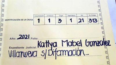 Demandan a la Diputada Kattya González por difamación