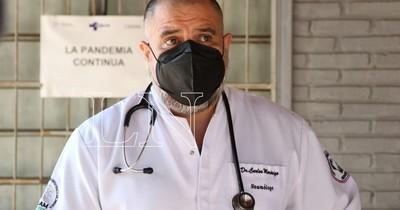 La Nación / Médico del Ineram cuestiona festejos tras llegar al millón de vacunados