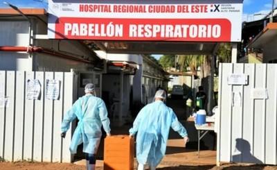 Alto Paraná dispone de camas en sala normal y UTI para casos de covid