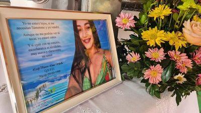 Familia y amigos de Leidy Luna aguardan los restos de la mujer