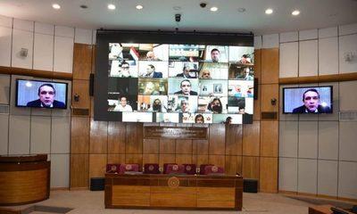 Senadores trata pérdida de investidura de Zacarías Irún, Friedmann y Sixto Pereira
