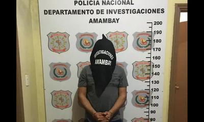 Amambay: Detienen a guardiacárcel por varios asaltos