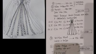 Denuncia de estafa por vestido de novia enciende las redes sociales