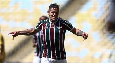 """Raúl Bobadilla, jugador de Fluminense: """"Tenemos mucho respeto a Cerro Porteño"""""""