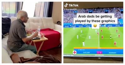 """""""Papá, son dibujos animados"""": Hombre vio partido de FIFA 21 pensando que era la semifinal de la Eurocopa"""