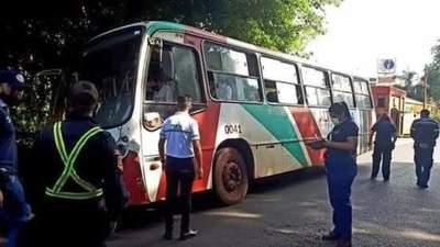 Transporte público se paralizaría en CDE y otros distritos desde mañana