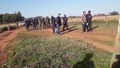 Sigue conflicto por ocupación de campo comunal en Araujo Cué