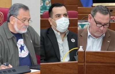Blanquean a tres senadores tras pedidos de pérdida de investidura