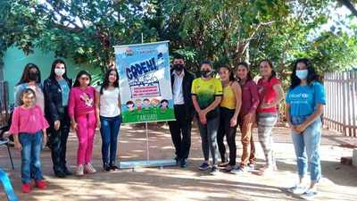 Adolescentes de Caaguazú participaron de taller del Minna sobre prevención de violencia