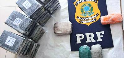 Decomisan 71 kilos de cocaína en la FRONTERA