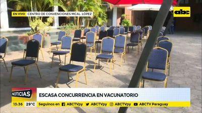 Vacunatorio del Mariscal y otros liberan vacunas sin terminación de cédula
