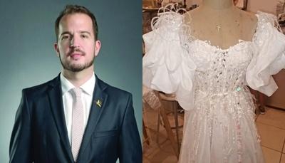 Polémica por vestido de novia