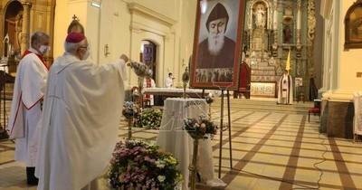 """La Nación / Este domingo es la fiesta de San Charbel, """"el hombre de los milagros"""""""