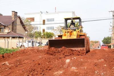Recuperan una calle en el barrio Boquerón II de CDE