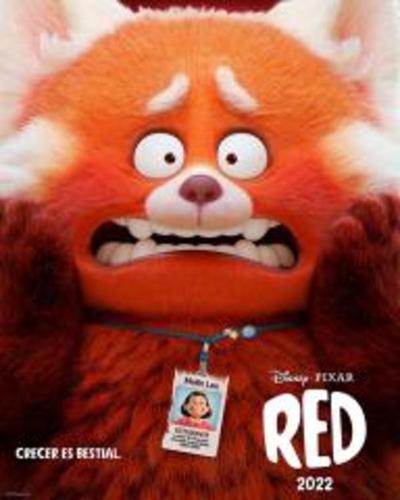 """Estrenan avance y póster de """"Red"""", nueva película de Pixar"""
