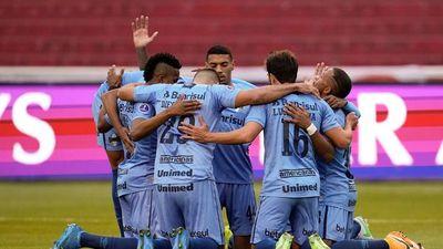 Gremio logra un gran triunfo en su visita a Liga de Quito